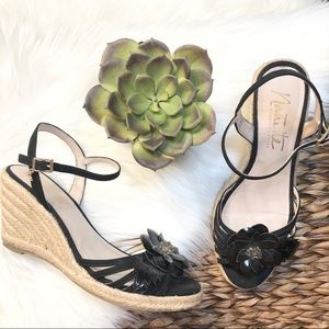 Nanette Lepore wedge heeled quince espadrilles